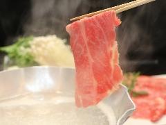 淡路牛ステーキとしゃぶしゃぶ食べ比べにあわび蒸焼・地魚造り盛り♪